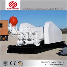 Pompe à boue à trois pompes 1000kw pour industrie pétrolière