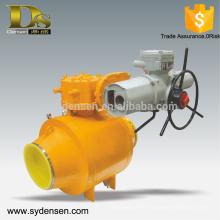 Le gazoduc à gaz utilise une vanne à boisseau motorisé