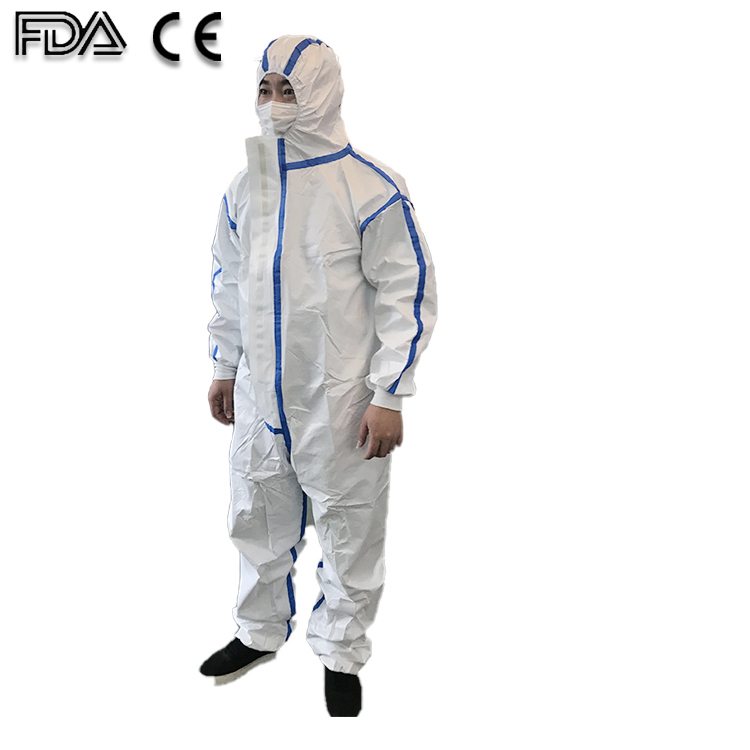 ICU Medical Suit Suit Saftety Isolation Clothing