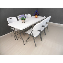 6FT Hotsale Plastic Folding Table for Events Use at Factory Price