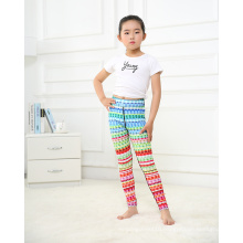 Digital Print Kids Yoga Fitness Athletic Leggings