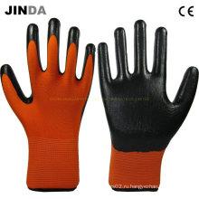 Перчатки Ns019 с покрытием из нитрила
