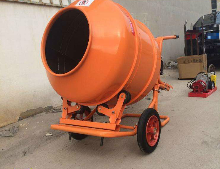 small concrete mixer