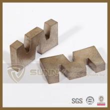 2015 Sunny W Form Diamant Segment Schneidklinge für Stein