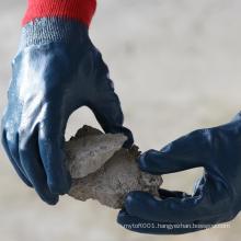 NMSAFETY EN388 4111 oil industrial nitrile work gloves