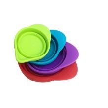 Alta qualidade do copo de medição de silicone permite a medição de ingredientes secos e líquidos