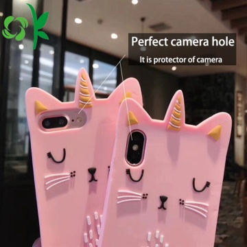 Crown Golden Cat Phone Case Unicorn Silicone Cover