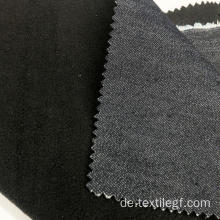 Deep Navy Denim Bonded Fabric