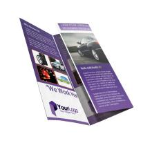 Your Design Advertising Promotional Folded Product Catalog Brochure Menu Instruction Booklet Printing Custom