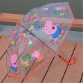 Parapluie Transparent Kid Peppa Pig Auto Promotion