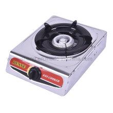 Queimador de gás de queimador portátil de aço inoxidável