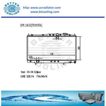 Радиатор для Mitsubishi