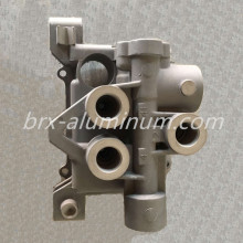 Hard anodized aluminum alloy die casting part