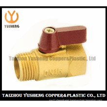Brass Ball Valve with Aluminum or Plastic Handle (YS1031)