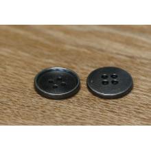 China Alibaba Button Maker atacado preto cor botão redondo para Jeans