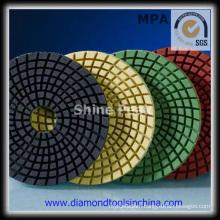 3 Steps Diamond Polishing Pads for Granite Marble Concrete