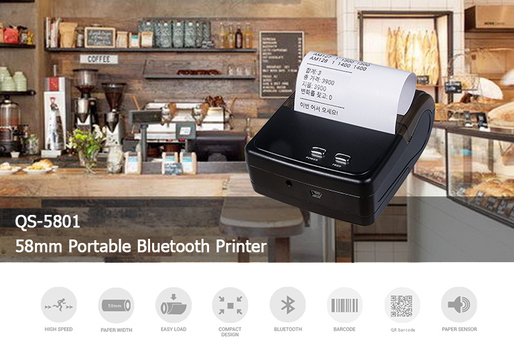 thermal printer Bluetooth 5801-1