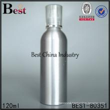 silver pressure spray pump bottle