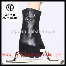 Mode Straße weibliche Leder Handschuhe