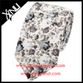 Organic Cotton Print Wholesale Skinny Floral Tie