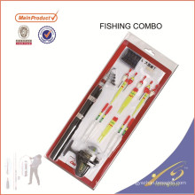 FDSF105F Cheap nuevo conjunto de pesca combo Niños conjunto de barra de pesca y carrete de pesca combo para niños