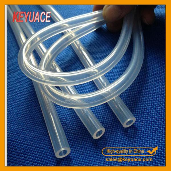 High temperature silicone rubber tubing
