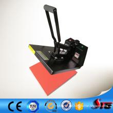 Impressão digital de borracha manual de alta pressão do CE na máquina dos t-shirt