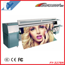 10 Feet Large Format Solvent Inkjet Printer Infiniti Fy-3208t Flex Banner Printing Machine