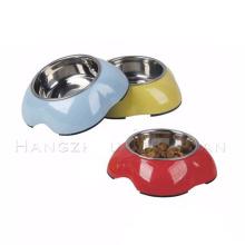 Stainless Steel Dog Eating Sublimation Travel Dog Bowl