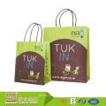 El precio razonable de calidad superior recicla bolsos de empaquetado Kraft del papel del bolso del regalo del color brillante de encargo