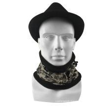 2020 Hot wholesale Fashion Black Multifunctional Magic Custom printing logo Tube Neck Warmer gaiter in winter