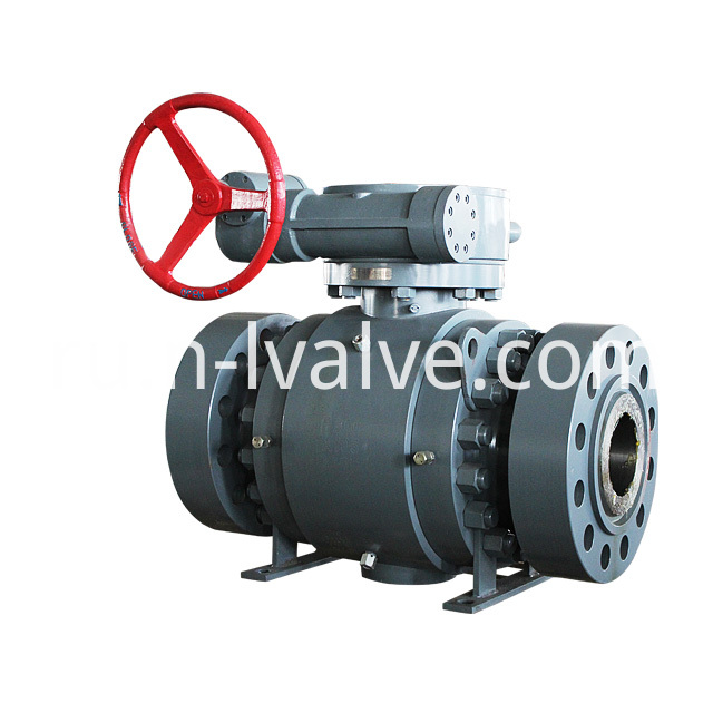 3 PC Trunnion Ball Valve