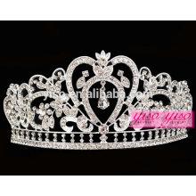Mujeres de la belleza venta al por mayor vestido de novia costumbre princesa tiara