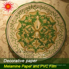 utilizado para el papel decorativo de los muebles
