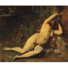 Schöne Frauen Nackte Körper Malerei auf Leinwand Ebf-027