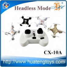 Cheerson CX-10A 2.4G 4CH 6-осевой RC-мини-нано-беспилотник с камерой CX10 RC четырехъядерный копир CX-10 upgrade quadcopter