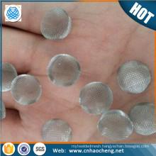 60 mesh 100 mesh glass water ball screens smoking pipe dome shape screens