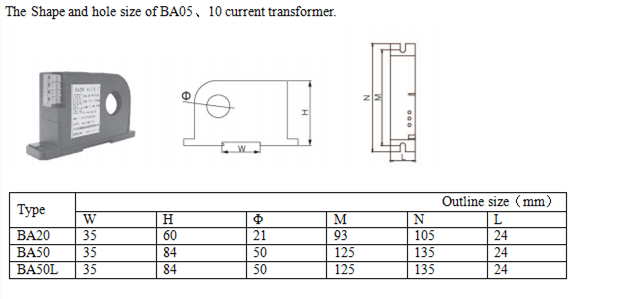 current monitoring transducer