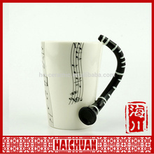 Großhandel Musik Keramik mugceramic Wasser Tasse
