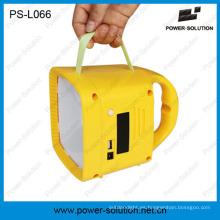 Linterna solar calificada con radio FM y reproductor de MP3