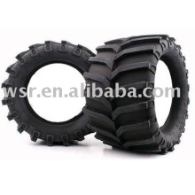 Neumático de goma de coche de carreras
