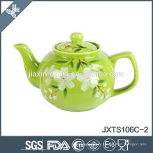 2015 Thé pot pot de thé en céramique de 6cup coloré, théière peinte à la main, théière de style chinois
