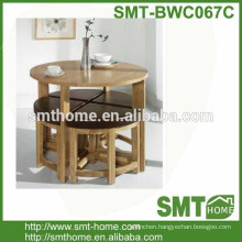 STOWAWAY KITCHEN DINING SET TABLE WITH STOOLS