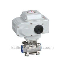 3PCS electric ball valve(screw thread)