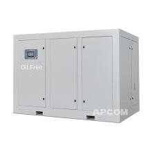 APCOM camion perforadora del pozo de agua brushless 17m3 min (600cfm) air compressor for charcoal powder flyash painter