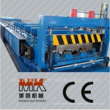 Metal Decking Floor Making Equipment Steel Plates Roll Forming Floor Deck Machine