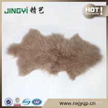 Meilleure vente peau de tissu de peau TibetLamb