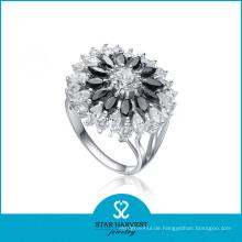 Art- und Weisekostüm 925 silberner CZ-Schmucksache-Ring (SH-0055R)