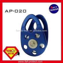 AP-020 30kN liga de alumínio lado pequeno lado polia