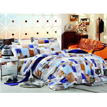 100 % coton Pigment imprimé Bed Sheet Set /quilt couverture ensemble